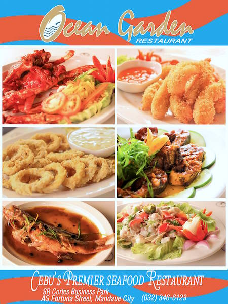 ocean garden seafood restaurant is not your ordinary sutukil place it has redefined the standard sutukil items into culinary innovations - Ocean Garden