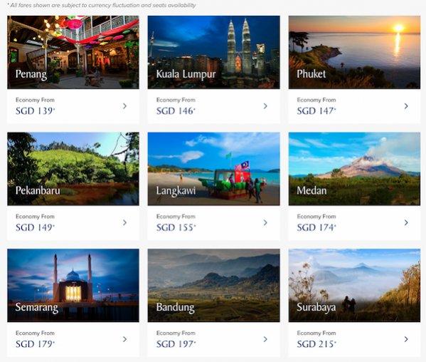 SilkAir and Singapore Airlines Showcase and Travel Fair 2018