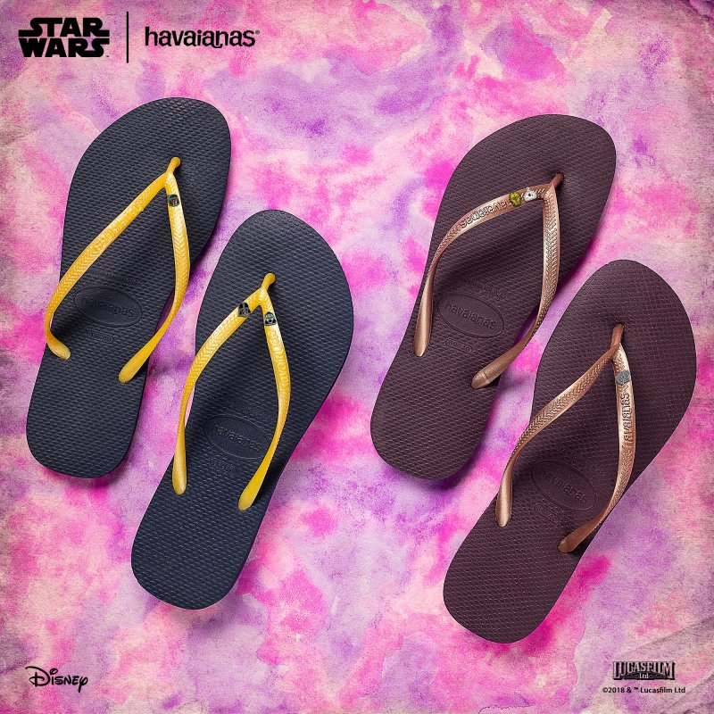 cbee90eb63770 The Force is strong with what Havaianas has in store for everyone this  summer.