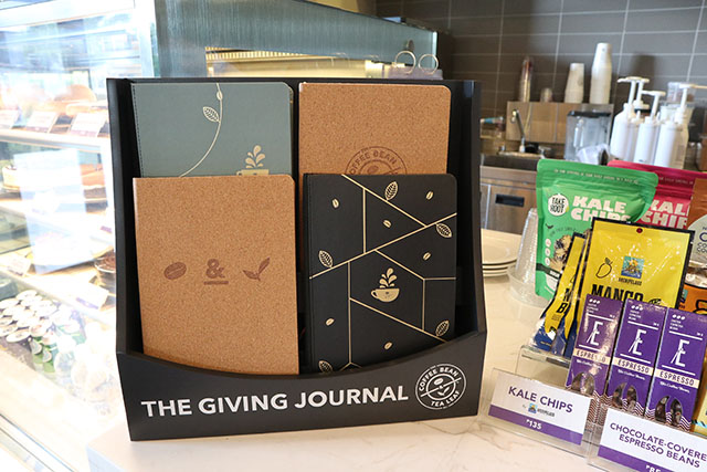 Coffee Bean and Tea Leaf Journal